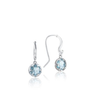 SE21002 Tacori Sonoma Skies Petite Crescent Drop Earrings