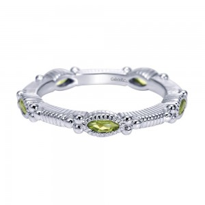 Gabriel Fashion Silver Stackable Stackable Ladies' Ring LR6800-7SVJPE