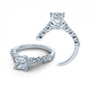 Verragio Platinum Couture Engagement Ring Couture-0410 M P