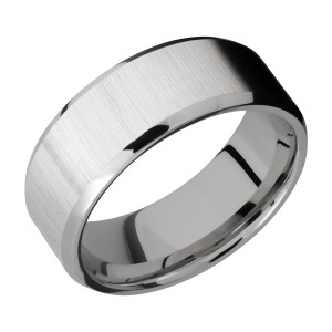Lashbrook 8B Titanium Wedding Ring or Band