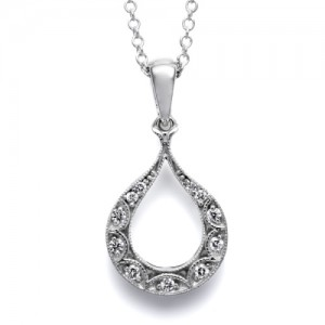 Tacori Diamond Necklace Platinum Fine Jewelry FP577