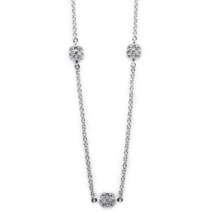 Tacori Diamond Necklace Platinum Fine Jewelry FC103-24