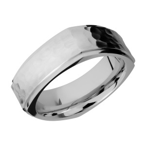Lashbrook 8FGESQ Titanium Wedding Ring or Band