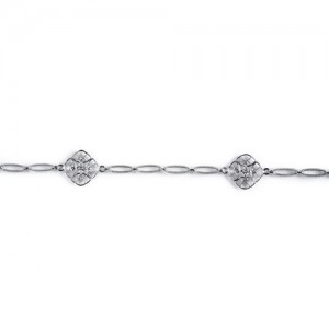Tacori Diamond Bracelet 18 Karat Fine Jewelry FB615