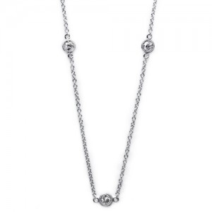 Tacori Diamond Necklace Platinum Fine Jewelry FC108-24