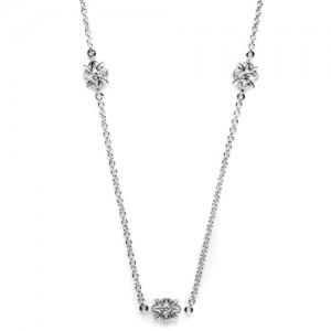 Tacori Diamond Necklace Platinum Fine Jewelry FC112-18