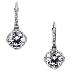 Tacori Diamond Earrings 18 Karat Fine Jewelry FE64275