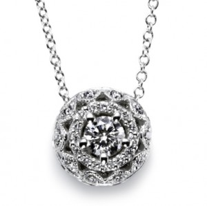 Tacori Diamond Necklace Platinum Fine Jewelry FP5264