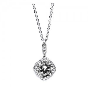 Tacori Diamond Necklace Platinum Fine Jewelry FP64245