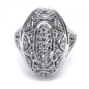 Tacori Diamond Ring Platinum Fine Jewelry FR800