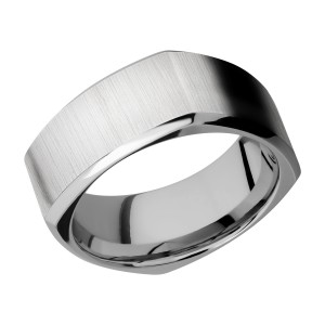 Lashbrook 9BSQ Titanium Wedding Ring or Band