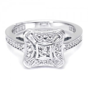 Tacori Diamond Ring Platinum Fine Jewelry FR810