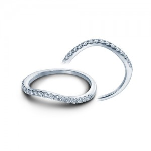 Verragio Platinum Insignia Wedding Band INS-7010W