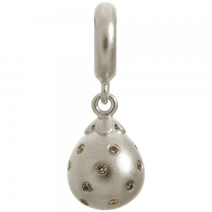 Endless Jewelry Smokey Star Drop Sterling Silver Charm 43800-2