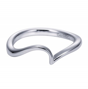 Gabriel Platinum Contemporary Wedding Band WB6683PTJJJ