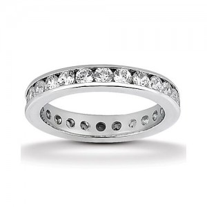 Eternity Diamond Band 14 Karat Taryn Collection TQD 6-5-124