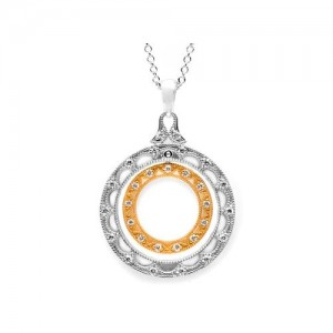 Tacori Diamond Necklace Platinum Fine Jewelry FP603PK