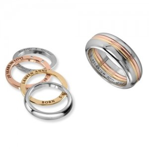 Kretchmer Platinum Inner Secrets Halo Ring