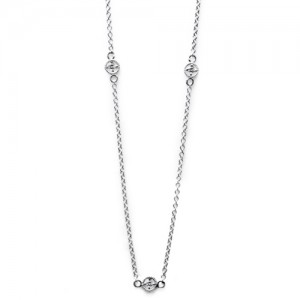 Tacori Diamond Necklace Platinum Fine Jewelry FC107-24