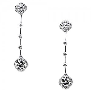 Tacori Diamond Earrings Platinum Fine Jewelry FE653