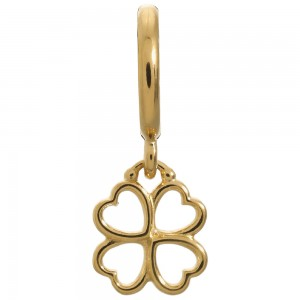 Endless Jewelry Clover Gold Plated Charm 53203