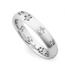 245415 Christian Bauer 18 Karat Diamond  Wedding Ring / Band