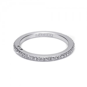 Tacori Platinum Simply Tacori Wedding Band 2630BSM