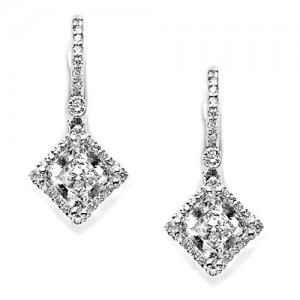 Tacori Diamond Earrings 18 Karat Fine Jewelry FE642PR55