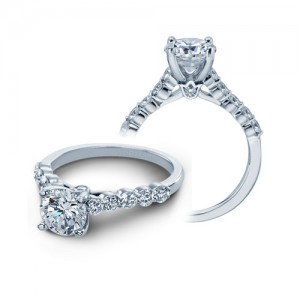 Verragio Platinum Couture Engagement Ring Couture-0410 S R