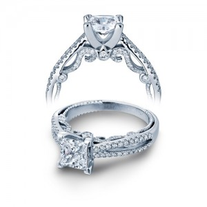 Verragio Platinum Insignia-7073P Engagement Ring
