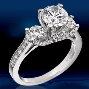 Verragio Platinum Classico Engagement Ring ENG-0288