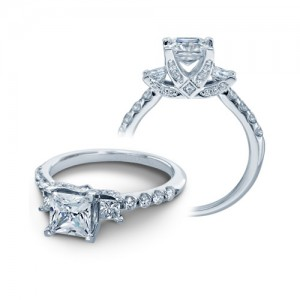 Verragio Platinum Couture Engagement Ring Couture-0404