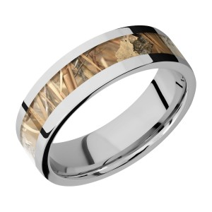 Lashbrook 7F14/CAMO Titanium Wedding Ring or Band