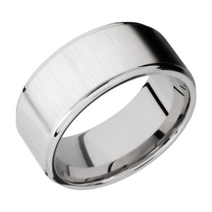 Lashbrook CC10FGE Cobalt Chrome Wedding Ring or Band