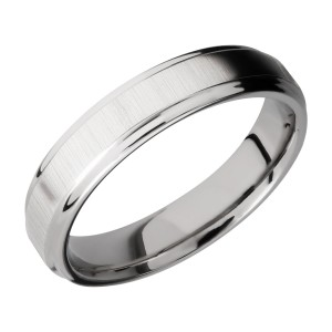 Lashbrook CC5FGE Cobalt Chrome Wedding Ring or Band