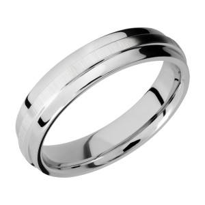 Lashbrook CC5FGEW Cobalt Chrome Wedding Ring or Band