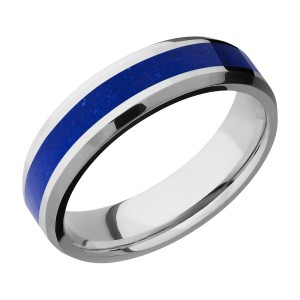 Lashbrook CC6B13(NS)/MOSAIC Cobalt Chrome Wedding Ring or Band