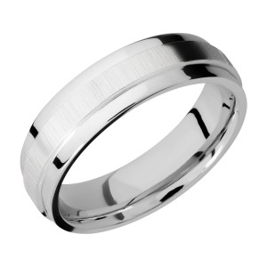 Lashbrook CC6FGEW Cobalt Chrome Wedding Ring or Band