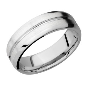 Lashbrook CC7B11U Cobalt Chrome Wedding Ring or Band