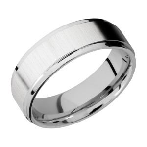 Lashbrook CC7FGE Cobalt Chrome Wedding Ring or Band