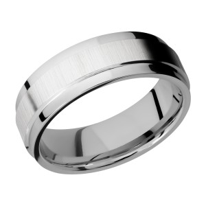 Lashbrook CC7FGEW Cobalt Chrome Wedding Ring or Band