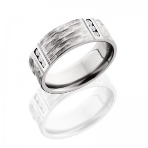 Lashbrook CC8FM4VLCHANNELDIA TBH-POLISH Cobalt Chrome Wedding Ring or Band