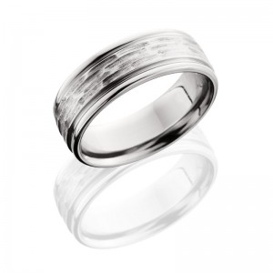 Lashbrook CC8REF TBH-POLISH Cobalt Chrome Wedding Ring or Band