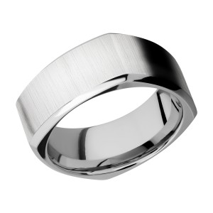 Lashbrook CC9BSQ Cobalt Chrome Wedding Ring or Band