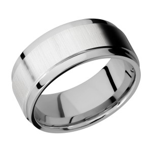 Lashbrook CC9FGEW Cobalt Chrome Wedding Ring or Band