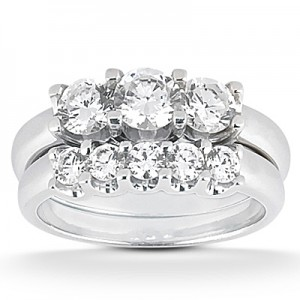 Taryn Collection Platinum Diamond Engagement Ring TQD A-0411