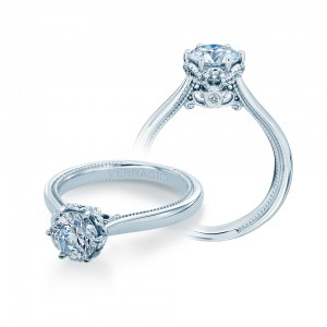 Verragio Renaissance-942R 18 Karat Diamond Engagement Ring