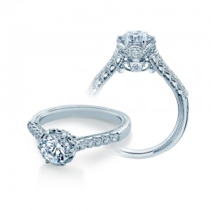Verragio Renaissance-943R65 Platinum Diamond Engagement Ring