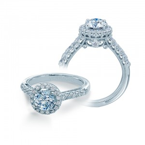 Verragio Renaissance-945R65 Platinum Diamond Engagement Ring