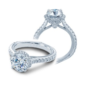 Verragio Couture-0460R Platinum Engagement Ring